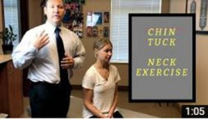 Chin Tuck Neck Exercise