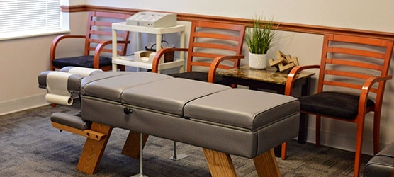 Chiropractic Peoria IL Adjustment Table